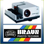Braun 35mm Slide Projectors